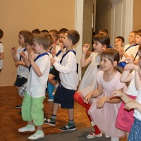 Vystoupení dětí z předškolní přípravky 14. 5. 2013
