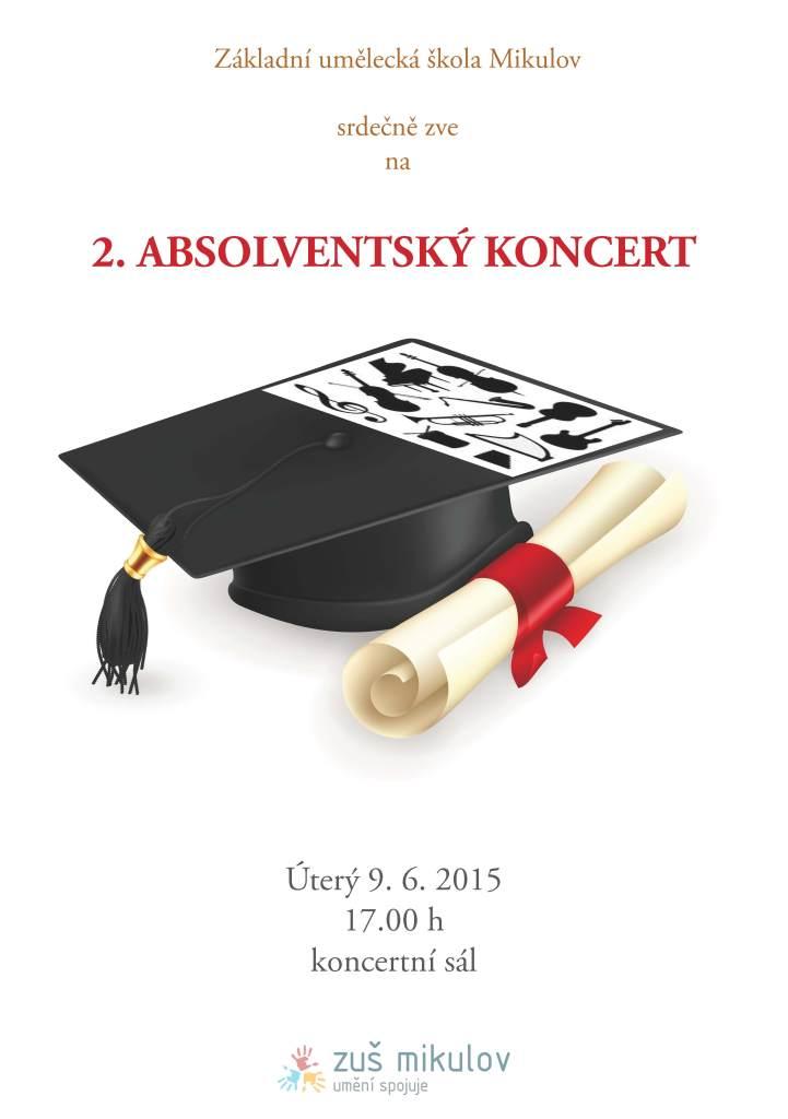 2. Absolventský koncert 9. 6. 2015