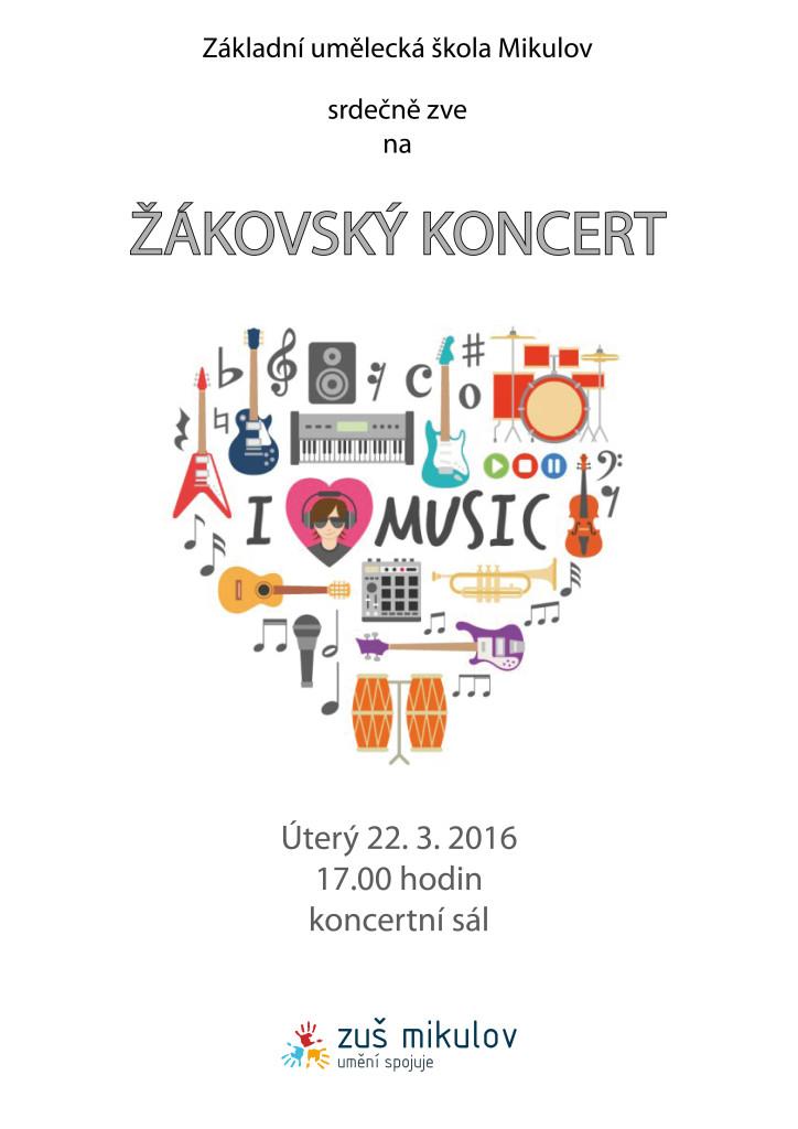 22. 3. 2016 žákovský koncert