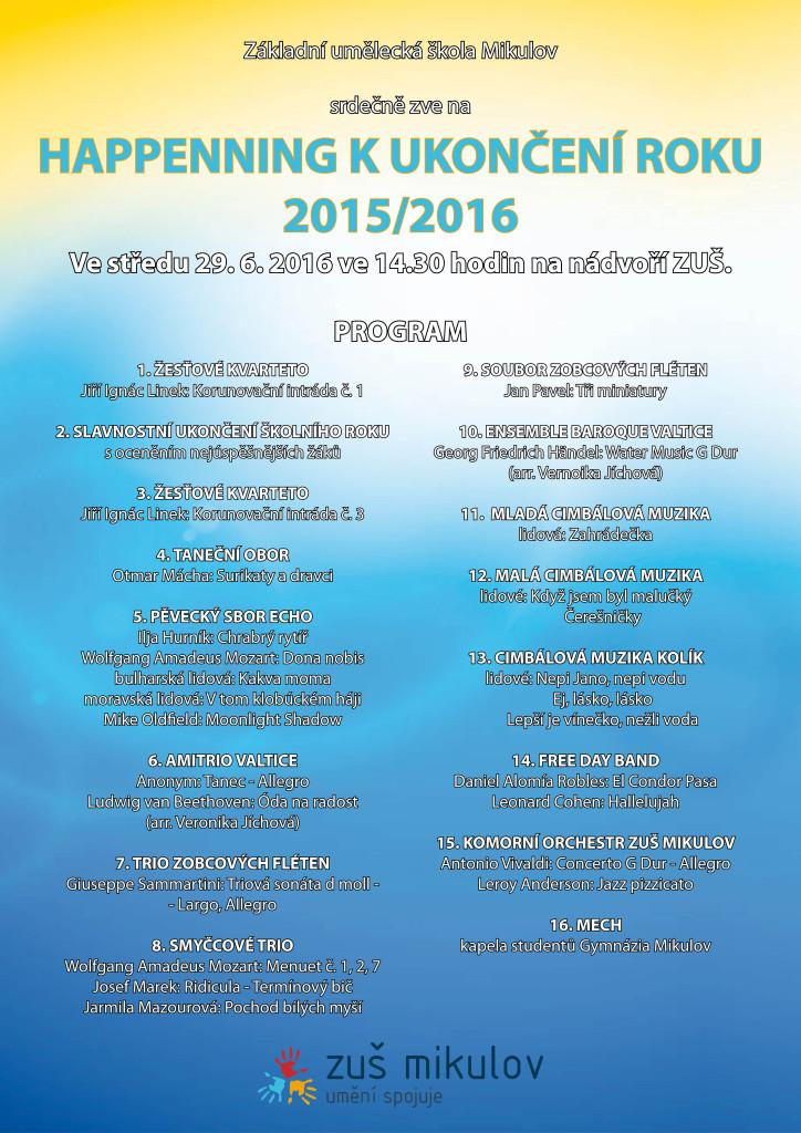 Ukončení roku 2015 2016