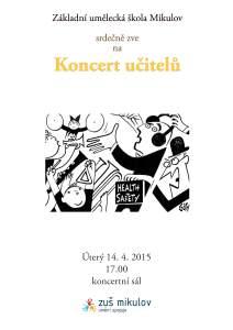 Koncert učitelů 14. 4