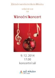 Vánoční koncert 9. 12. 2014